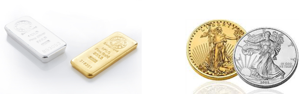 Gold Silver Bars Coins-rd